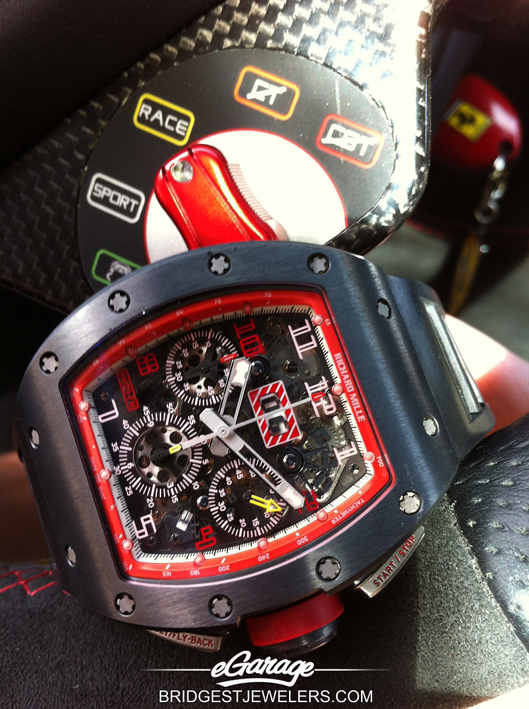 Richard Mille Singapore Ferrari A Series Of Pictures Broug Flickr