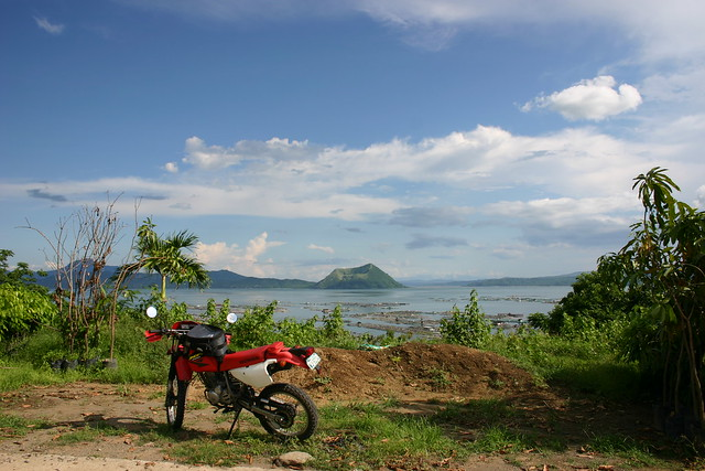Another view on Taal Lake, Philippines, 2005