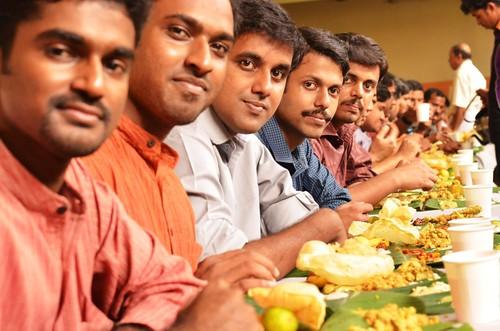 Feast | A traditional Kerala Hindu wedding feast ...