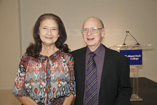 Graciela y Alberto Liberman   Cintas awards reception, Freed