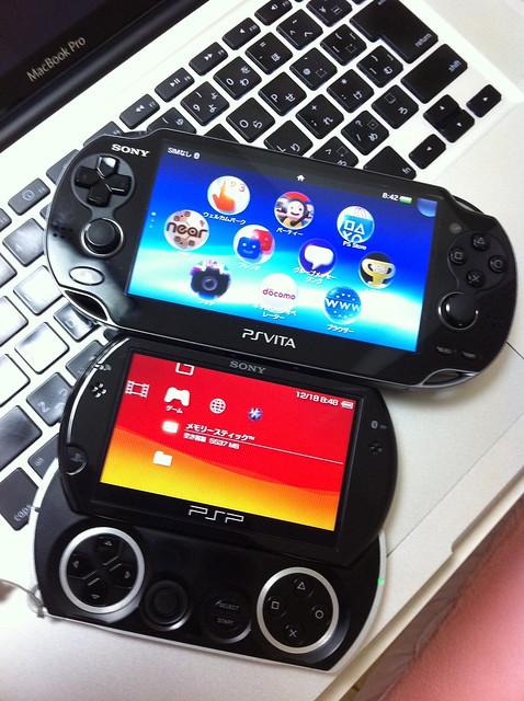 PS Vita vs PSP®go