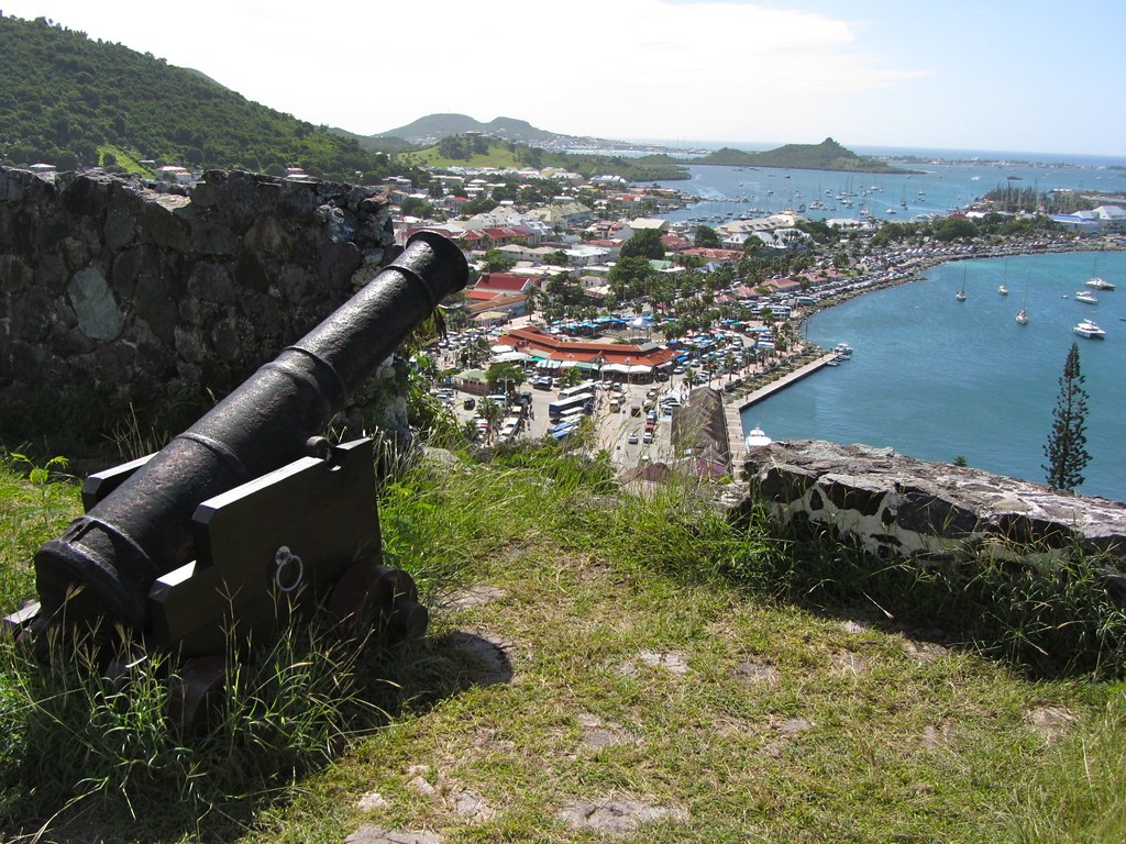 Cannon Over Marigot Market