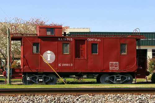 Illinois Central Caboose - Halls, TN