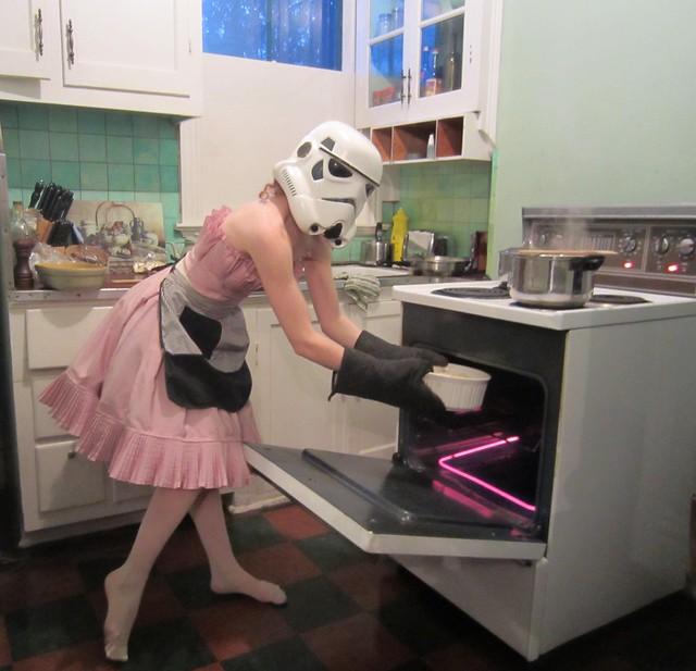 RedandJonny: Love in the oven