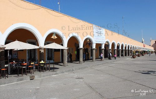 Portal Guerrero - San Pedro Cholula - Puebla - México