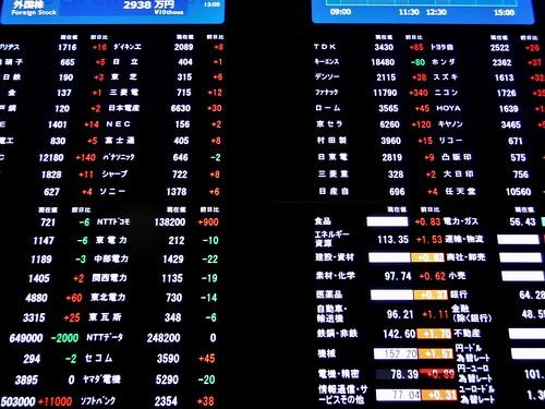 Tokyo Stock Exchange | by Dick Thomas Johnson