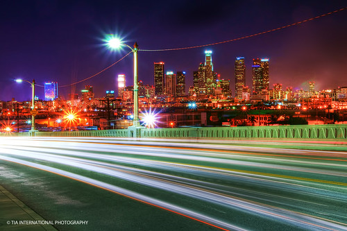 california street city bridge november autumn friends light urban fall skyline night race speed buildings landscape evening losangeles los long exposure downtown track artist cityscape crossing view skyscrapers friendship traffic angeles district trails neighborhood sidewalk angels transportation vista metropolis streams sixth 6th tosin racer artist's arasi tiascapes ©tiainternationalphotography