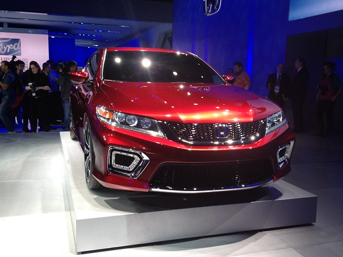2013 Honda Accord Coupe Concept - Live from the 2012 Detroit Auto Show -  Jan 10, 9 48 36 AM Photo