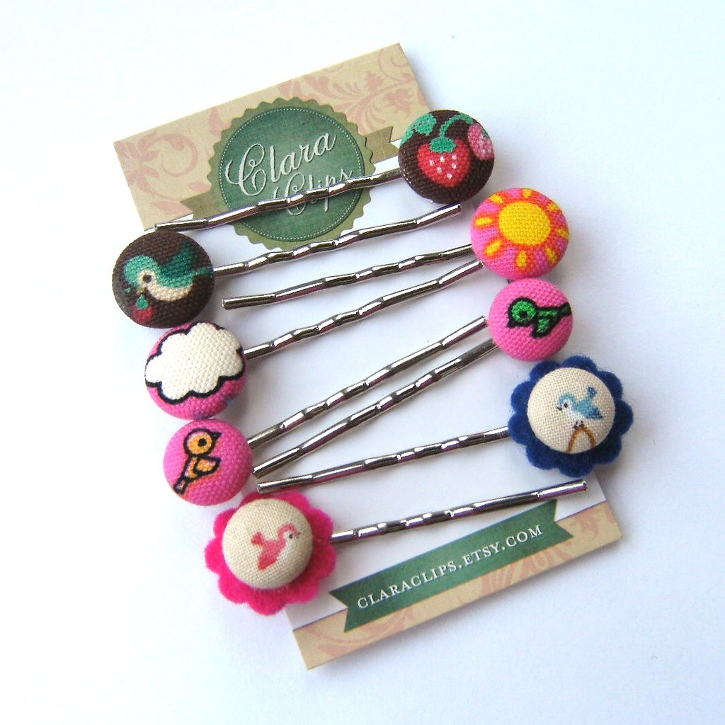 button bobby pins!