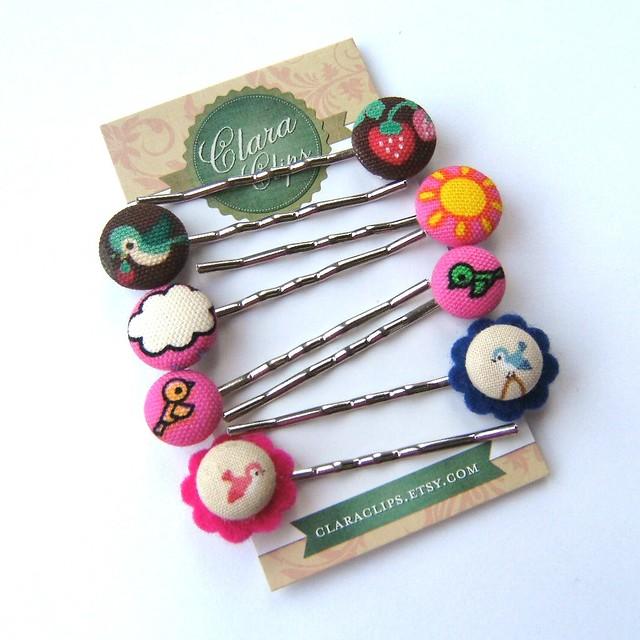 button bobby pins!