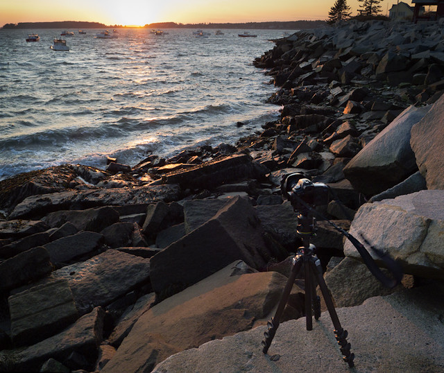 Camera and Coastal Scene (20372)