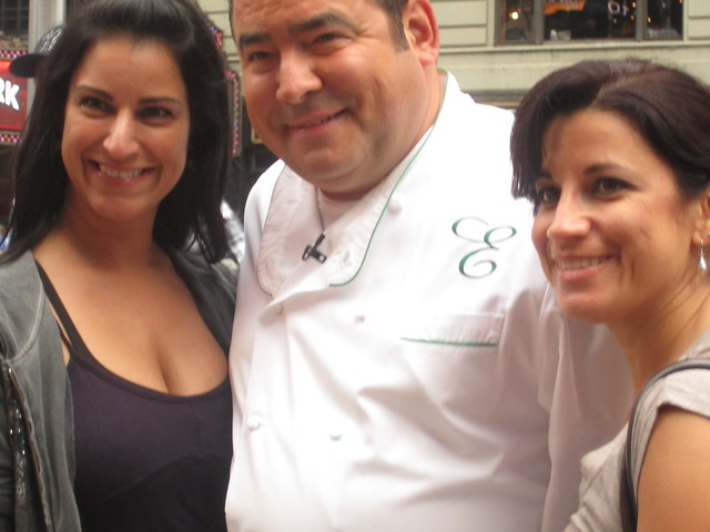 Emeril Lagasse with friends