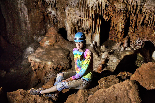Cathedral Room 2, Faith Wright, Blue Spring Cave, White Co, TN