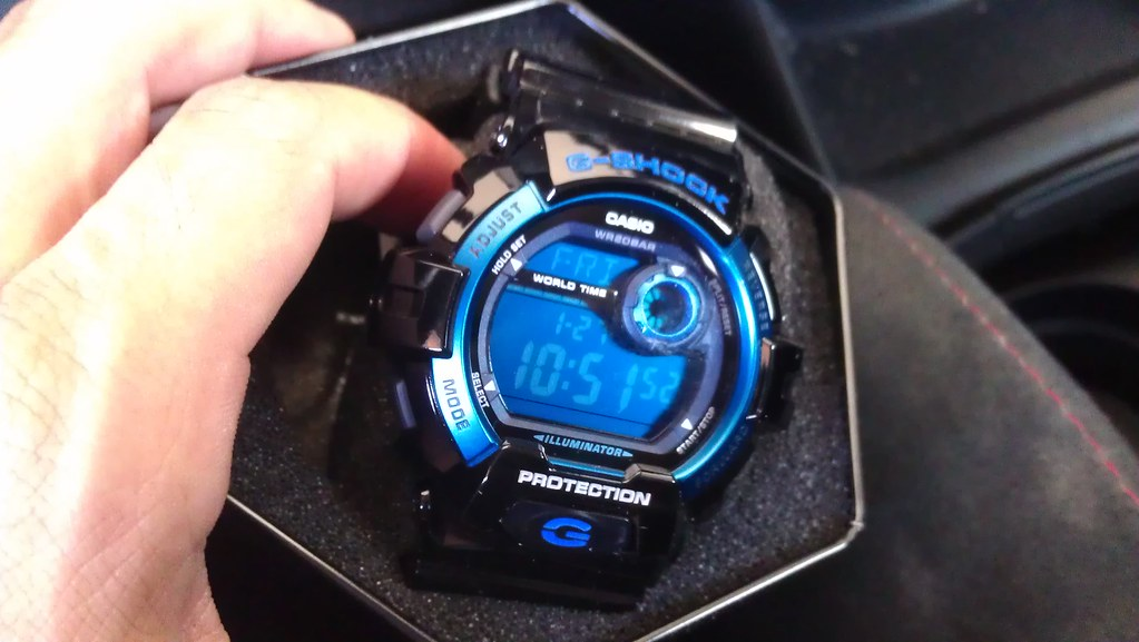brand new 35a5b 9d8cb new Casio G-Shock G8900A-1 | got this today. I gave it away ...