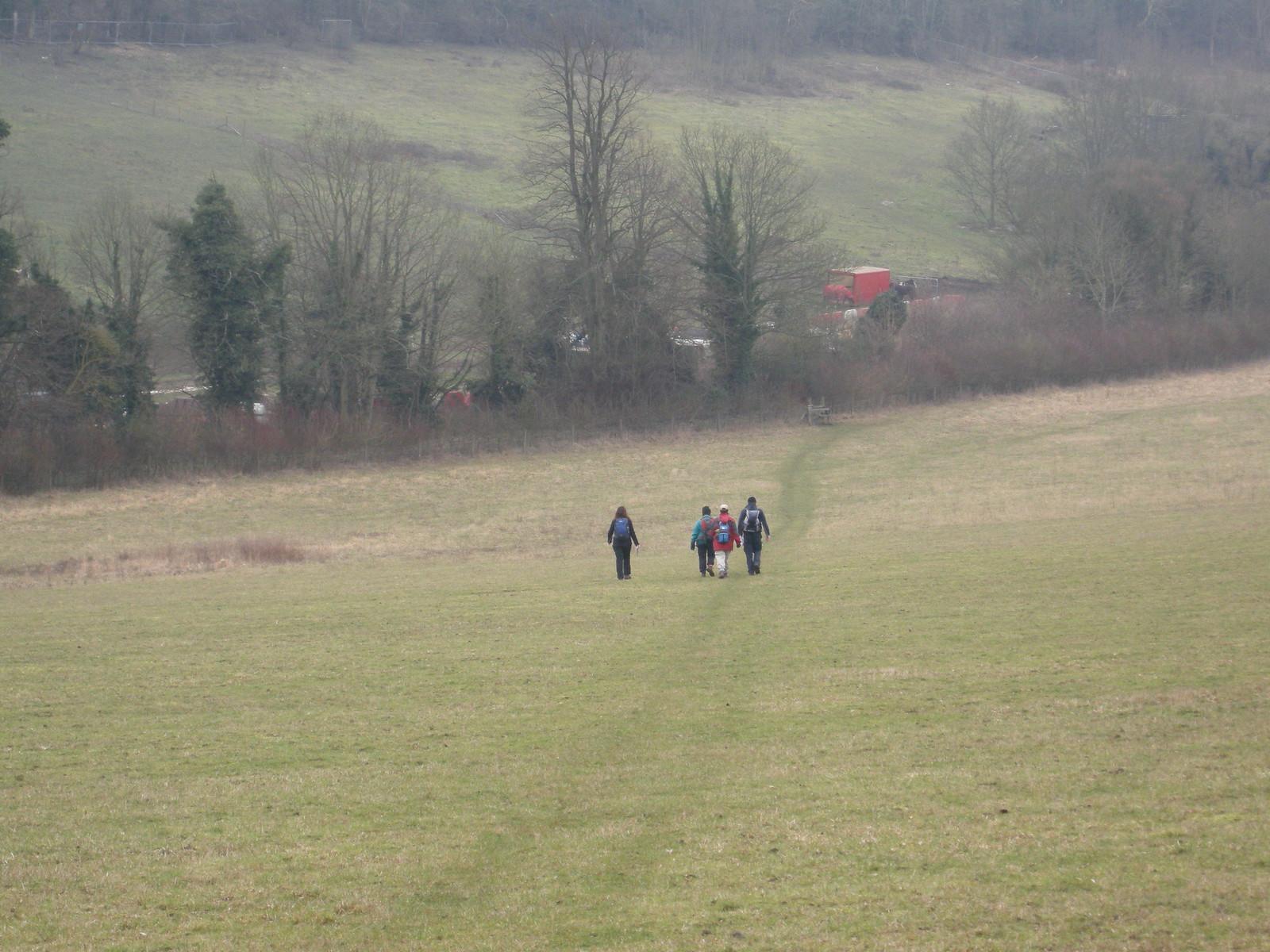 wanderers on fields