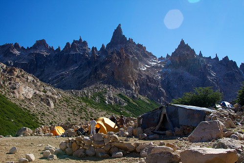 Argentina - Bariloche trekking 058 - camping at Refugio Frey | by mckaysavage