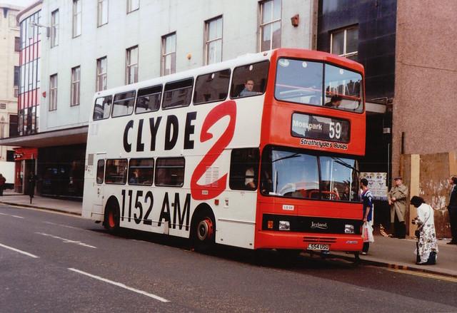Strathclyde's Buses   LO54    L554 USU