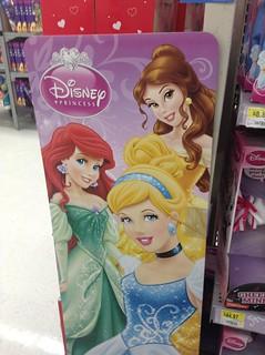 Disney Princess display at Walmart 4/2014 Pics by Mike Mozart #DisneyPrincess #DisneyPrincesses #Walmart   by JeepersMedia
