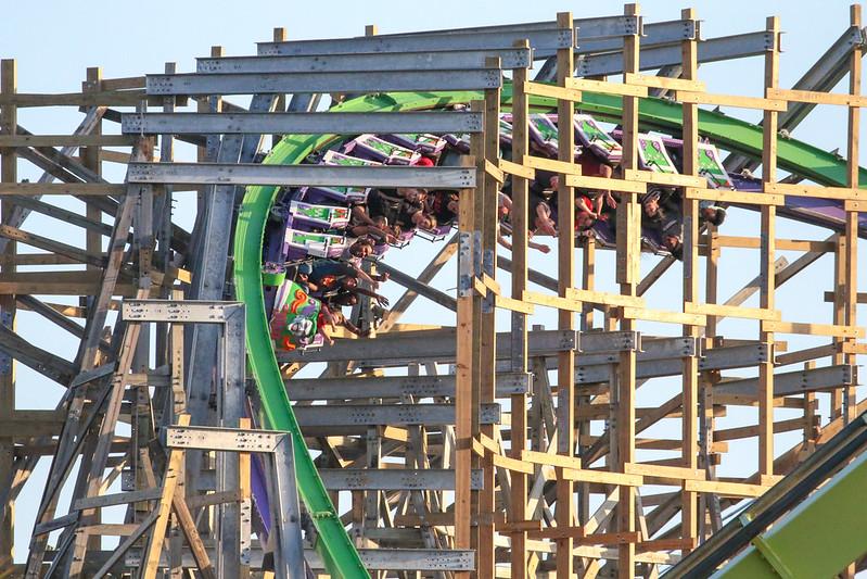 Joker - Six Flags Discovery Kingdom