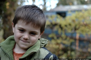 sequoia, watching his mom sweep off the roof - _MG_2813 | by sean dreilinger