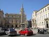 Arles – Place de la République s římským obeliskem ze 4. století, foto: Luděk Wellner