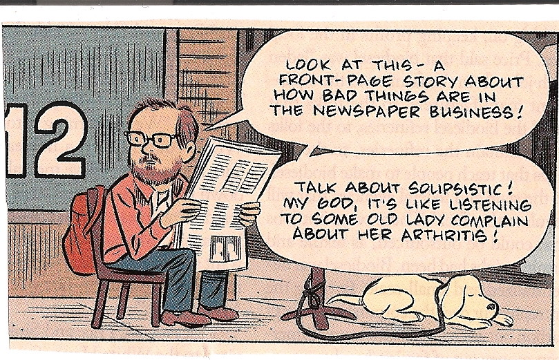journalism woes  | Found in a letter from a good friend