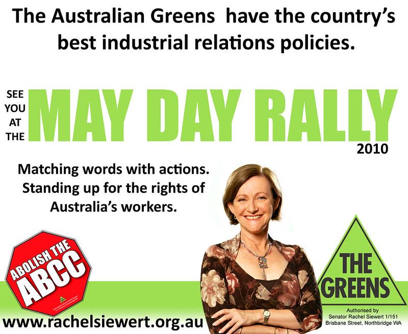 Senator Siewert May Day Rally RGB