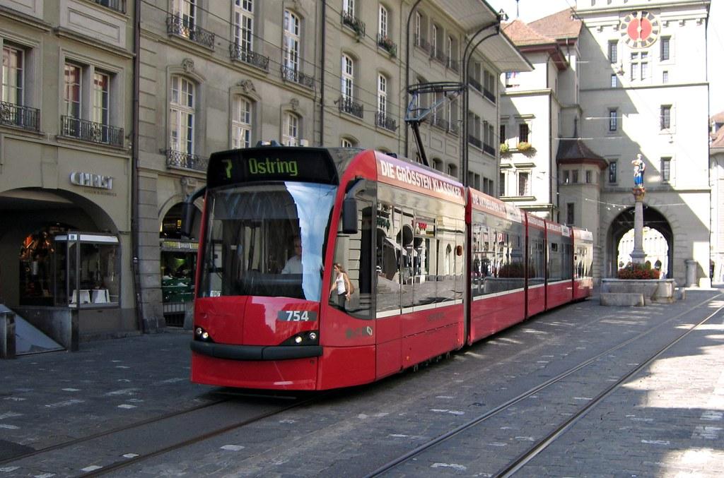 Tram Bern Schweiz