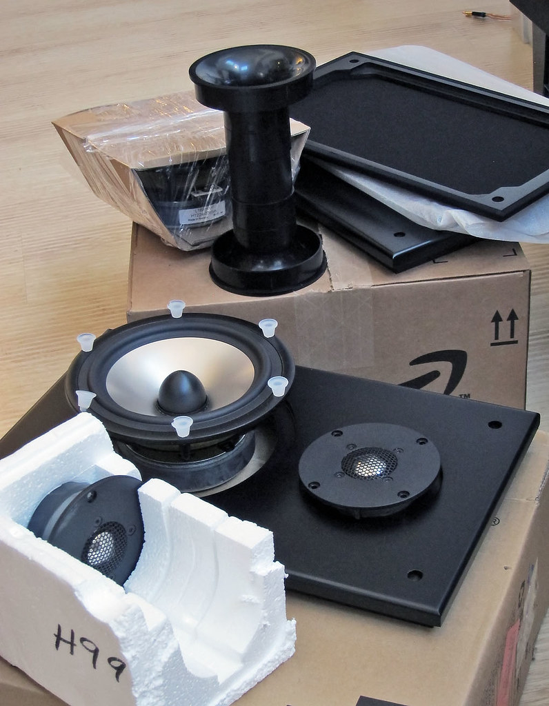 DIY: zaph audio Seas L18 & 27TBFCG speakers | zaph's howto: … | Flickr