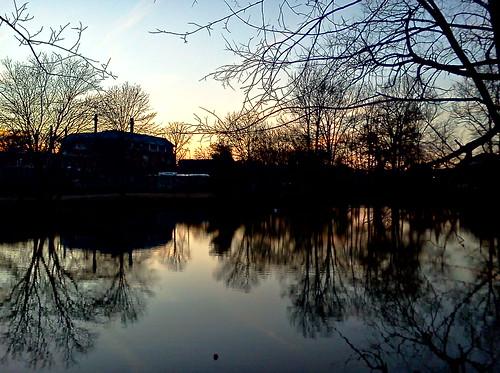 sunset nj glassboro rowanuniversity abbottspond