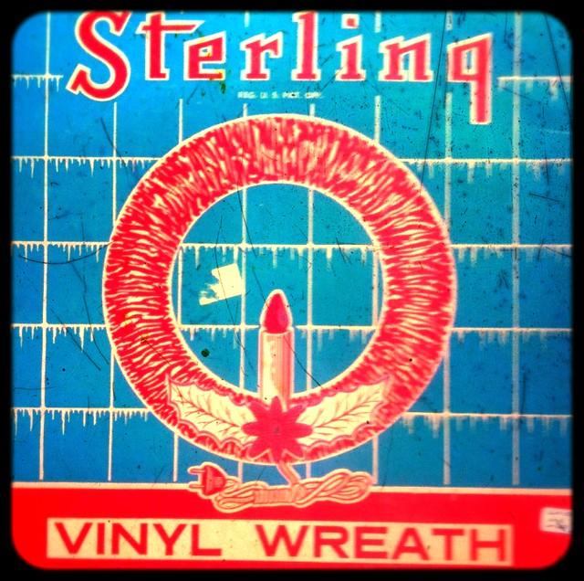 Vinyl Wreath