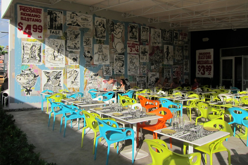 Miami Wynwood Wynwood Kitchen Bar Faile And Bast Flickr