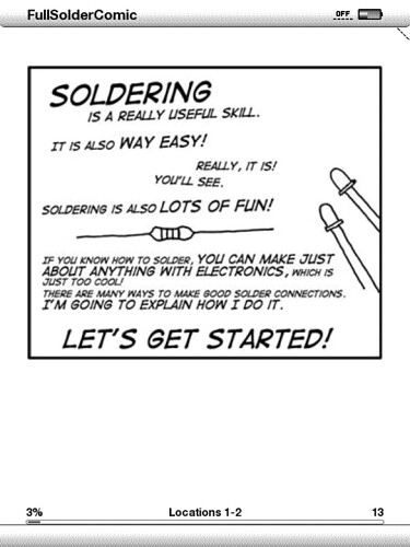 Solder Comic - Kindle version