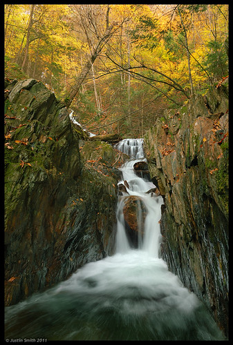 autumn ma waterfall massachusetts nikond50 justinsmith nikon1735mmf28 twincascade justinsmithphotocom