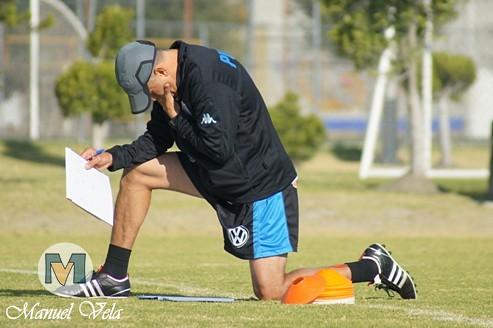 El Puebla FC continua su preparación, realizando trabajo técnico – táctico en el Deportivo la Noria de cara al partido de la Jornada 4 TC2012 donde enfrentara a Jaguares de Chiapas por Mv Fotografía Profesional / www.pueblaexpres.com IMG_0008