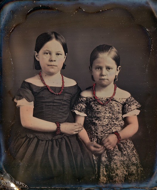 Well Protected, 1/6th-Plate Scovill Daguerreotype, Circa 1855