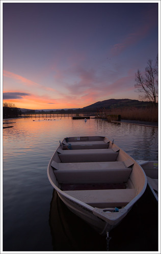 llangorselake llangorse lake sky sunrise dawn morning powys reflection cloud boat langorselake breconbeacons wales