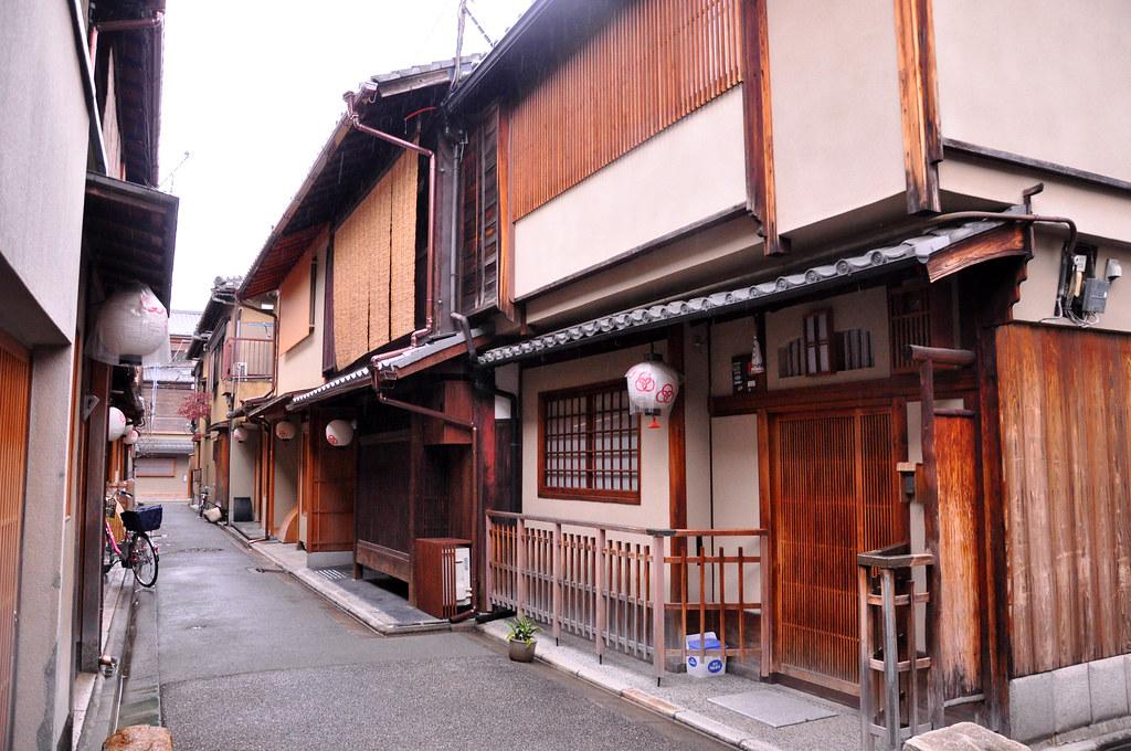 Machiya houses, Kyoto