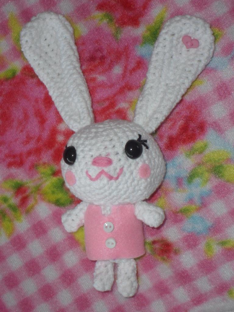 Free Bunny Crochet Pattern - Kawaii Cuddler™   3amgracedesigns   1024x768