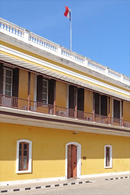 Le consulat général de France (Pondichéry, Inde)