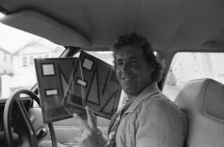 Split Enz - TVNZ employee with True Colours LP(1980)