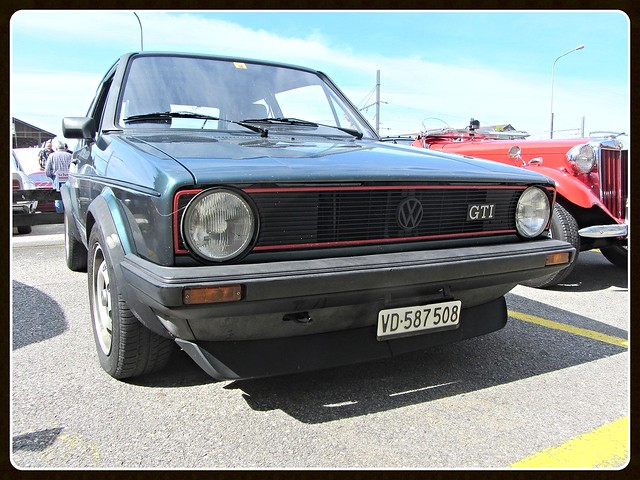 VW Golf GTI, MkI