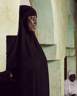 Amina spends the majority of her time encouraging young women | by World Bank Photo Collection