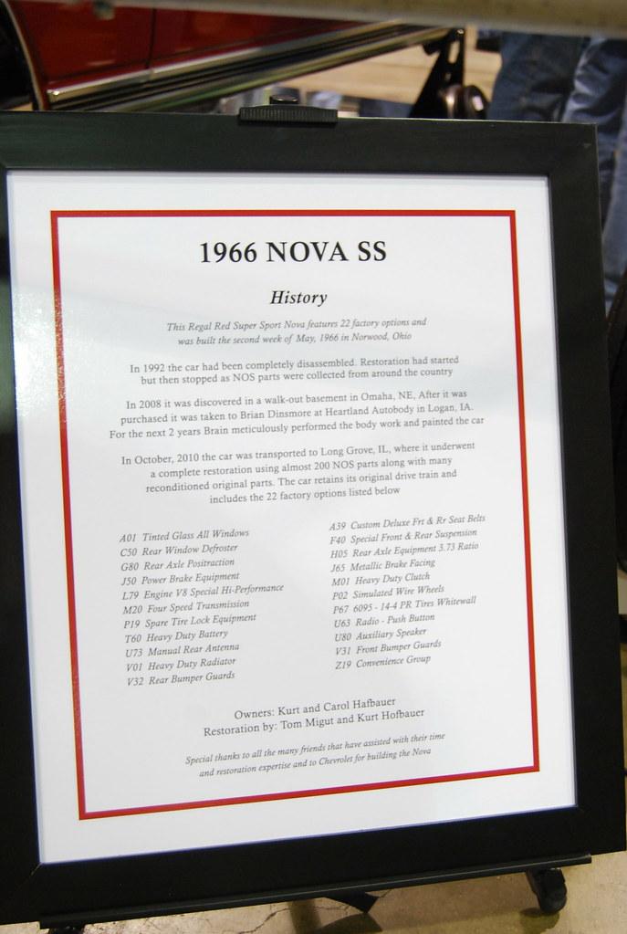 1966 Chevy Nova SS L-79 Unveiling | I always learn something