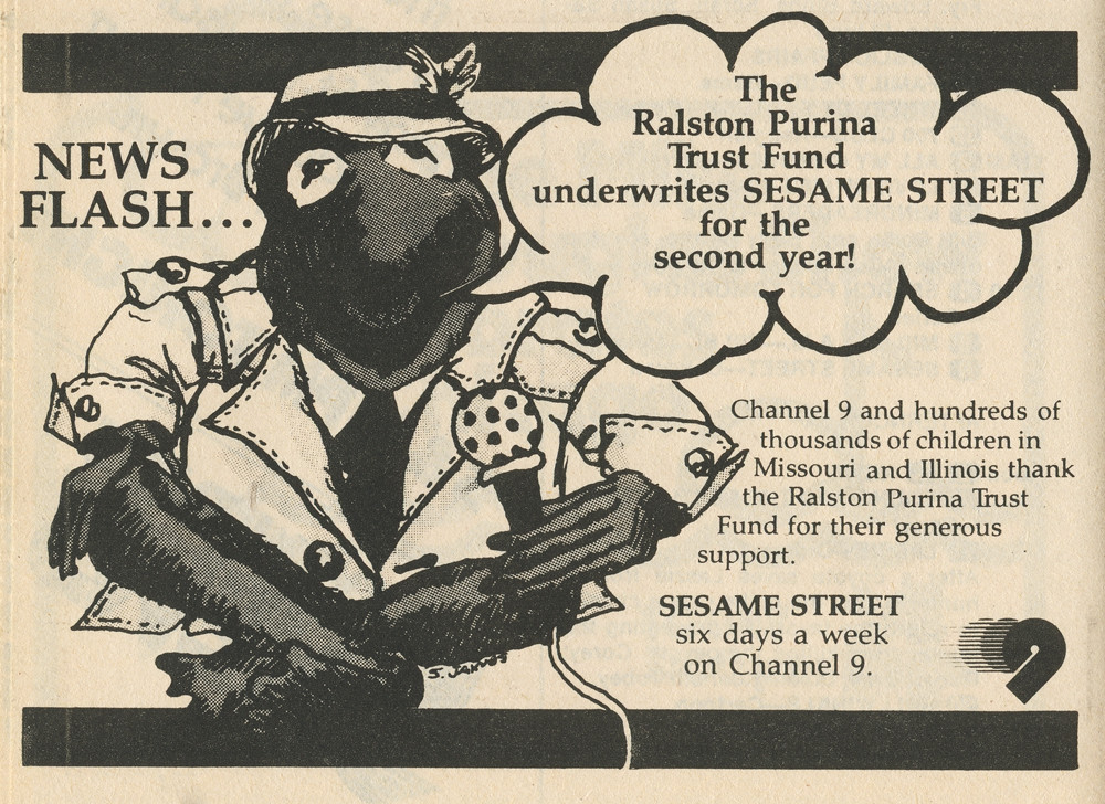 1979 Sesame Street TV Guide Ad | Todd Franklin | Flickr