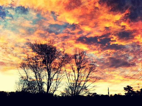 camera clouds sunrise iphone4