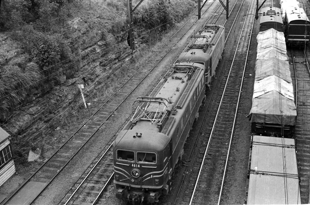 Gosford 1970 - electric locos by sth475