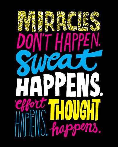 20111216 Miracles Don't Happen | by Chris Piascik