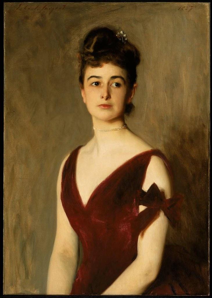 John Singer Sargent - Mrs Charles E. Inches (Louise Pomeroy) [1887]