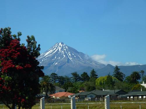 New Zealand, Mount Taranaki onderweg naar Stratford